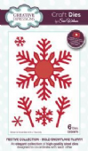 Sue Wilson Craft Dies - Festive Collection - Bold Snowflake Flurry - CED3076